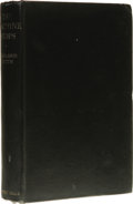 Books:First Editions, Wayland Smith: The Machine Stops. (London: Robert Hale &Co, 1936), first edition, 284 pages, bound in black cloth, 12mo...