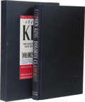 Books:First Editions, Stephen King: Dolores Claiborne. (London: Hodder &Stoughton, 1992), special limited gift edition with facsimilesigned ...