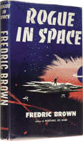 Books:First Editions, Fredric Brown: Rogue in Space. (New York: E. P. Dutton &Company, Inc., 1957), first edition, 189 pages, dust jacket by ...