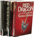 Books:First Editions, Thomas Harris: The First Three Hannibal Lecter Novels, including:.Red Dragon. (New York: G.P. Putnam's Sons, 1981),... (Total:3 )