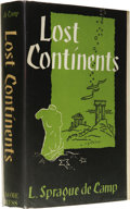 Books:First Editions, L. Sprague de Camp: Lost Continents: The Atlantis Themein History, Science, and Literature. (New York: Gnome Press,...