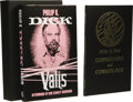 Books:Signed Editions, Philip K. Dick: Valis Limited Edition in Slipcase withCosmogony and Cosmology. (Surrey, UK: Kerosina Books, 198...(Total: 2 )