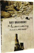 Books:First Editions, Ray Bradbury: The Homecoming. (New York: Collins Design,2006), first edition, unpaginated, illustrated by Dave McKean, ...