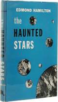 Books:First Editions, Edmond Hamilton: The Haunted Stars. (New York: Dodd, Meadand Co., 1960), first edition, 192 pages, blue cloth with blac...