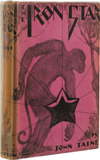 Forrest J. Ackerman's Personal Copy of John Taine's The Iron Star. (New York: E.P. Dutton and Co., 1930), first edition...
