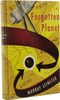 Books:First Editions, Murray Leinster: The Forgotten Planet. (New York: GnomePress, 1954), first edition, 175 pages, off-white marbled paper ...