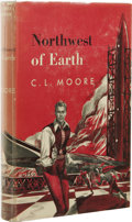 Books:Signed Editions, C.L. Moore: Northwest of Earth Signed First Edition. (NewYork: Gnome Press, 1954), first edition, 212 pages, green ...