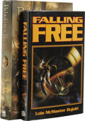 Books:Signed Editions, Lois McMaster Bujold: Two Science Fiction Novels, One Signed, including:. Falling Free. (Riverdale, New York: Baen B... (Total: 2 )