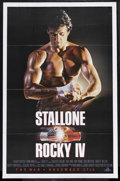 "Movie Posters:Sports, Rocky IV Lot (MGM/UA, 1985). One Sheets (2) (27"" X 41"") Advance. Sports.... (Total: 2 Items)"