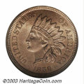 Indian Cents: , 1859 1C MS65 NGC. First year of the Indian cent obverse, ...