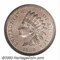 Proof Indian Cents: , 1859 1C PR66 NGC. One of, and perhaps the finest of ...