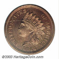 Proof Indian Cents: , 1864 1C Bronze PR67 Red and Brown PCGS. Beginning in July ...