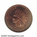 Proof Indian Cents: , 1872 1C PR66 Red and Brown NGC. An important proof copy ...