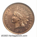 Proof Indian Cents: , 1872 1C PR66 Red and Brown PCGS. An important issue as a ...