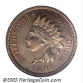 Proof Indian Cents: , 1892 1C PR66 Red NGC. The 1892 is one of the more ...