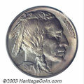 Buffalo Nickels: , 1917-S 5C MS65 PCGS. There is slight evidence of die ...