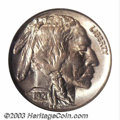 Buffalo Nickels: , 1921-S 5C MS65 NGC. It is not that unusual for a Choice '...