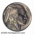 Proof Buffalo Nickels: , 1936 5C Type One--Satin Finish PR67 PCGS. A lovely satin ...
