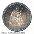 Proof Seated Quarters: , 1856 25C PR64 NGC. The estimated mintage for proof 1856 ...