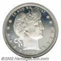 Proof Barber Quarters: , 1892 25C PR68 Ultra Cameo NGC. The sheer eye appeal of ...