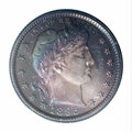 Proof Barber Quarters: , 1895 25C PR67 PCGS. An absolutely extraordinary proof ...