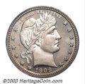 Proof Barber Quarters: , 1909 25C PR66 Cameo PCGS. Well made and seemingly ...