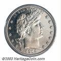 Proof Barber Quarters: , 1913 25C PR67 Cameo PCGS. Fully bright and sparkling with ...