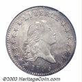 1795 50C AU58 NGC. O-116, R.3. This variety, downgraded from a Rarity 5 rating in recent years, shares the same obverse...