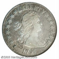 Early Half Dollars: , 1797 50C VF30 PCGS. O-102, R.5. Long known to be the most ...