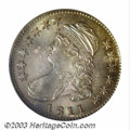 Bust Half Dollars: , 1811 50C Small 8 MS64 PCGS. O-110, R.1. Rather deeply ...