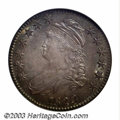 Bust Half Dollars: , 1823 50C Ugly 3 MS64 NGC. O-110a, R.3. This well known ...