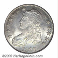 Bust Half Dollars: , 1828 50C Square 2, Small 8, Large Letters MS64 PCGS. O-...