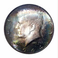 Kennedy Half Dollars: , 1964-D 50C MS68 PCGS. Both obverse and reverse of this ...