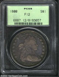 Early Dollars: , 1800 $1 12 Arrows Fine 12 PCGS. B-17, BB-196, R.2. Die ...