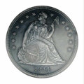 Proof Seated Dollars: , 1844 $1--Cleaned--ANACS. Net PR60. An elusive early ...