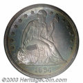 Proof Seated Dollars: , 1864 $1 PR67 NGC. In general terms, the 1864 dollar is ...