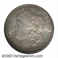1889-CC $1 MS61 ANACS. The 1889-CC is widely known as the rarest of all Carson City dollars. Only 350,000 pieces were pr...