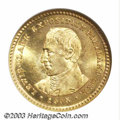 Commemorative Gold: , 1905 G$1 Lewis and Clark MS63 NGC. Definitely a high end ...