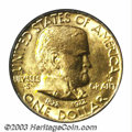 Commemorative Gold: , 1922 G$1 Grant with Star MS63 PCGS. Richly colored ...