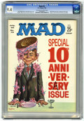 Magazines:Mad, Mad #72 (EC, 1962) CGC NM 9.4 Off-white to white pages....