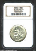 Commemorative Silver: , 1938-S 50C Boone MS65 NGC. Exceedingly lustrous with just ...