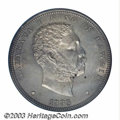 Coins of Hawaii: , 1883 $1 Hawaii Dollar MS63 PCGS. A notorious condition ...