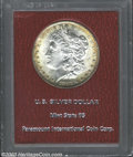 Additional Certified Coins: , 1882 $1 Morgan Dollar MS65 Paramount (MS63). The centers ...