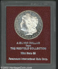 Additional Certified Coins: , 1887-S $1 Morgan Dollar MS65 Paramount (MS63). Ex: ...