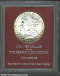 Additional Certified Coins: , 1891-CC $1 Morgan Dollar MS65 Paramount (MS63). Ex: ...
