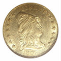 Early Quarter Eagles: , 1807 $2 1/2 MS62 NGC. Bass-3016, Breen-6124, R.3. Only 6,...