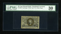 Fractional Currency:Second Issue, Fr. 1290 25c Second Issue PMG Very Fine 30....