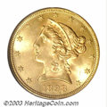 Liberty Half Eagles: , 1898-S $5 MS64 PCGS. The 1898-S is a more difficult Half ...