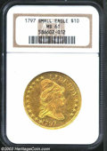 Early Eagles, 1797 $10 Small Eagle MS61 NGC. Breen-6833, B. 1-A, ...