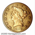 Liberty Eagles: , 1862 $10 MS60 NGC. The vast majority of survivors from ...